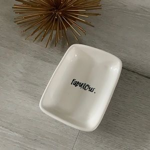 Rae Dunn Artisan collection by Magenta small dish fabulous vanity ceramic soap